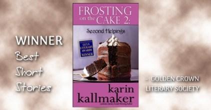 cover frosting on the cake 2 award winner