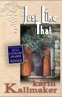 cover Just Like That by Karin Kallmaker
