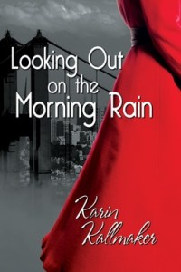 Looking Out on the Morning Rain estory red dress