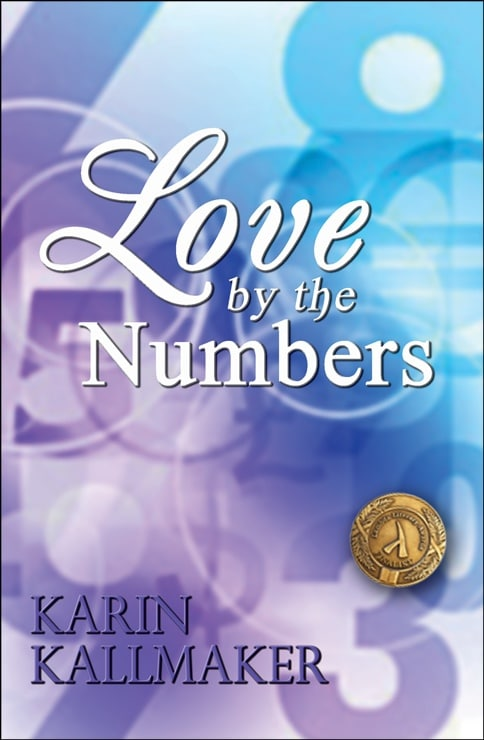 book cover love by the numbers science romance