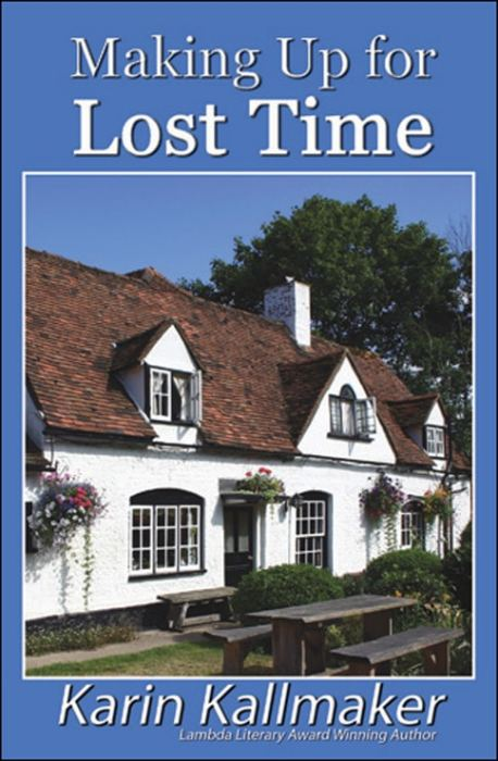 book cover making up for lost time lesbian inn
