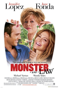 theatrical poster Monster in Law