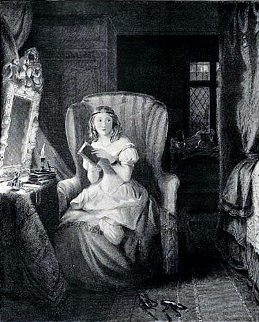 illustration from 1833 edition of Northanger Abbey