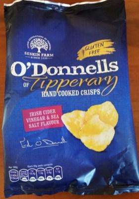 O'Donnells Cider Vinegar and Salt crisps