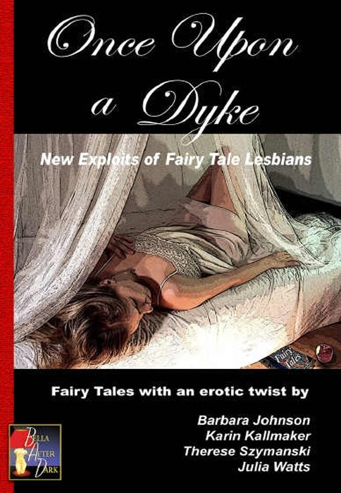 anthology cover lesbian fairy tales woman swooning