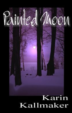 book cover painted moon lesbian romance classic