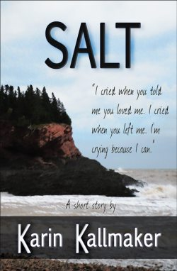 story cover with salt ocean stormy cliff