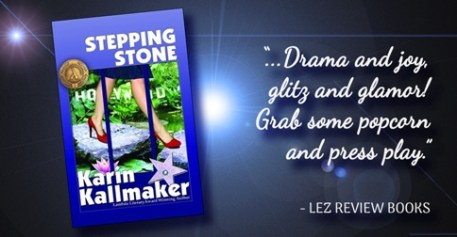 lez review books banner stepping stone grab some popcorn and enjoy