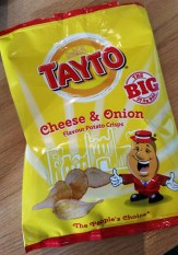 Tatyo Cheese and Onion Crisps