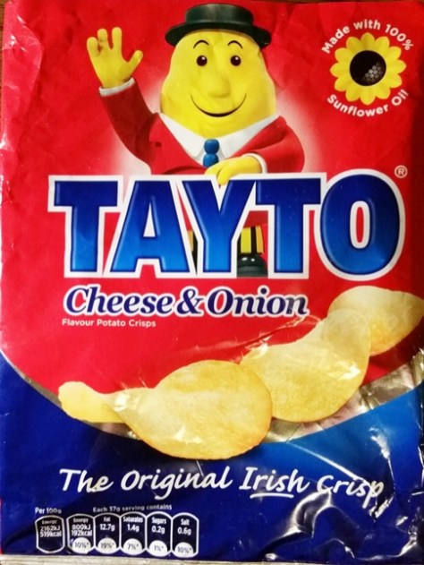 Tayto Crisps from Ireland