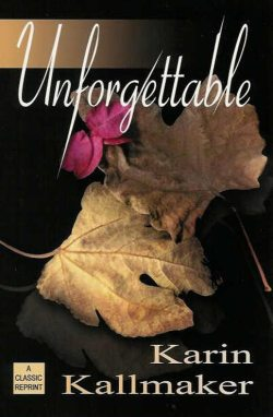 book cover unforgettable romance oak leaves