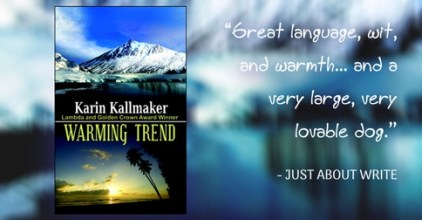 cover Warming Trend lovable dog