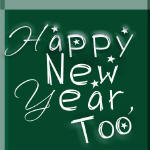 "Cover, estory ""Happy New Year, Too"