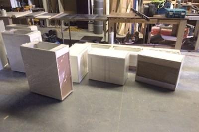 Kitchen Cabinet Deliveries