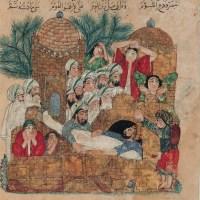 Islamilaiset hautaustavat keskiajan Euroopassa