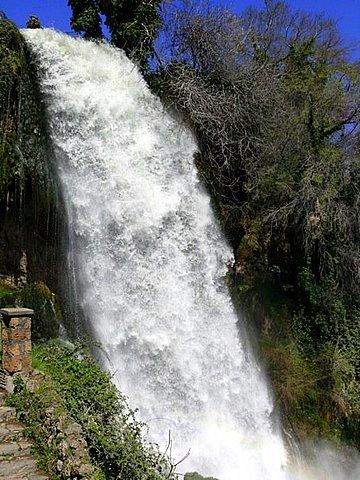 The waterfall of Edessa, Pella, Greece (photo by Nik Papazois)
