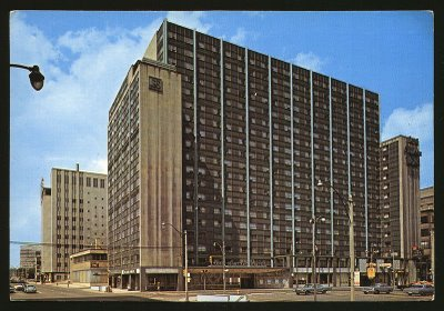 Lord Simcoe Hotel, Toronto - torn down in 1979