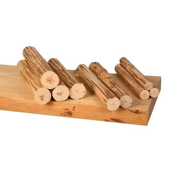diy log end table kit