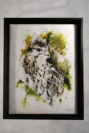 """Falco Cherrug"", HelvEdition - Handembellished"
