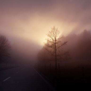 On the road into the light by Ka L-O-K