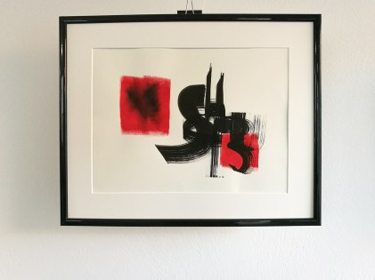 "Ka_lligraphArt ""Schluss"" Ka LOK - Framed   20191106"