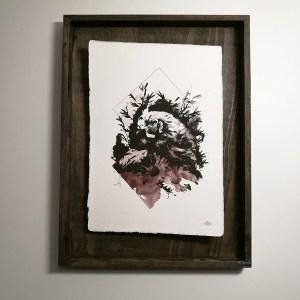 """""""Gallus Gallus"""" – HelvEdition by Ka L-O-K   Edition Spéciale, impression sur papier vergé"""