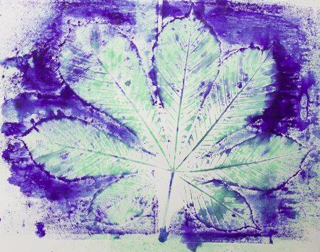 Folia Mystica - Manual Print on Paper - Ka L-O-K