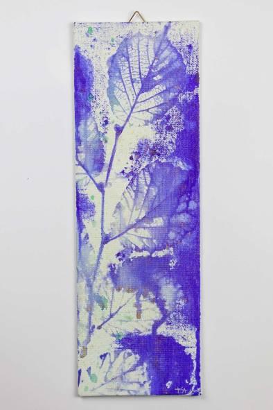 "Small Artwork on Canvas Board ""Folia Mystica"" - Beech | Ka L-O-K"