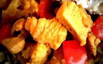 Kylling/blomkål i karry