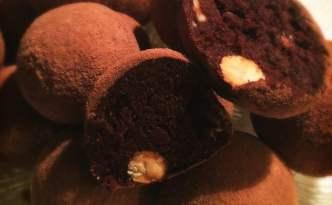 Dadel-mandel-mandarinkugler (sund konfekt)