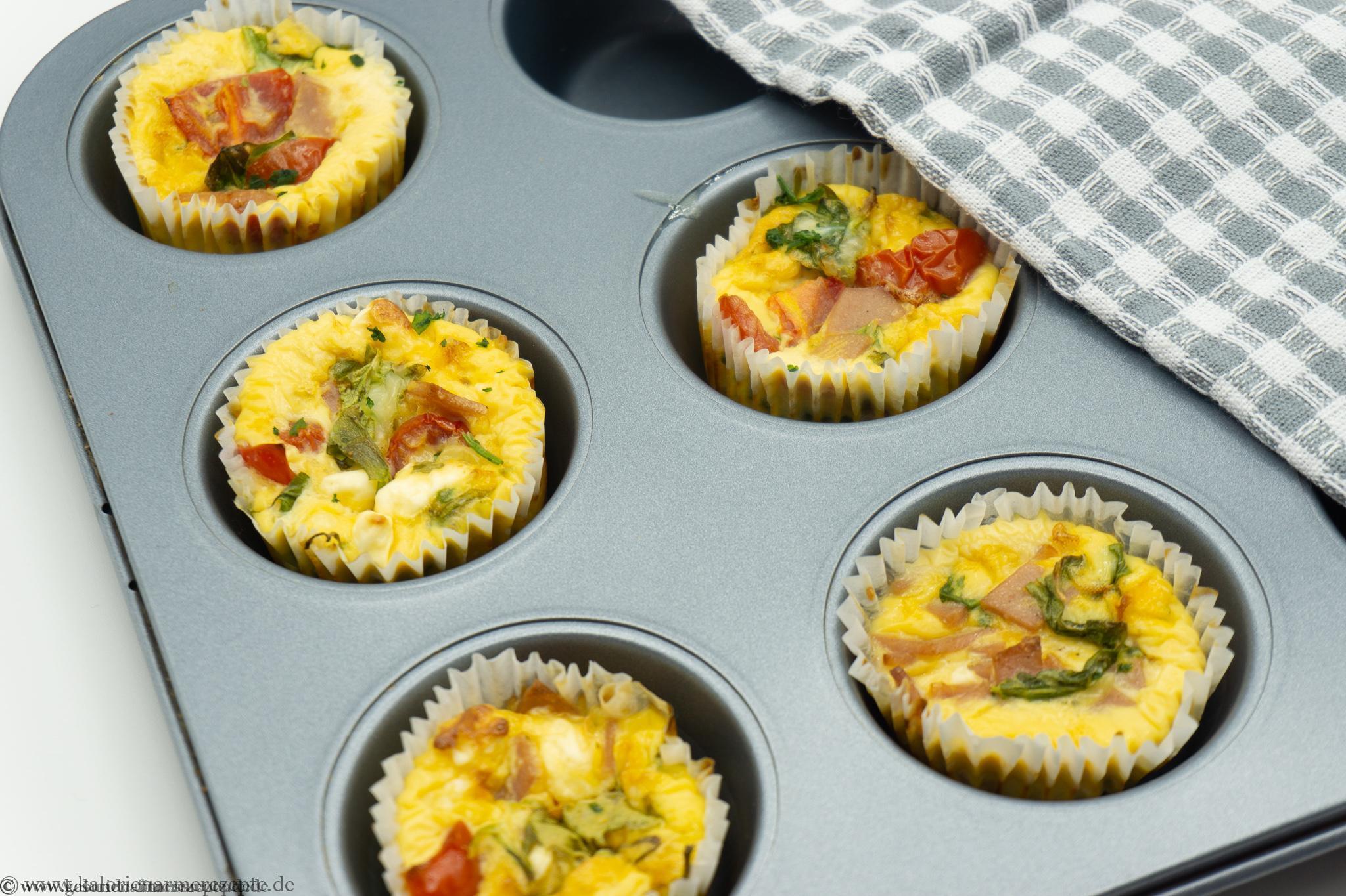 Frühstücksmuffin - Gesunde Kalorienarme Rezepte