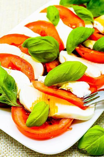 Tomaten Mozzarella - Gesunde Kalorienarme Rezepte