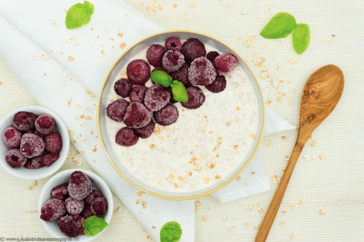 Cheese Overnight Porridge - Gesunde Kalorienarme Rezepte