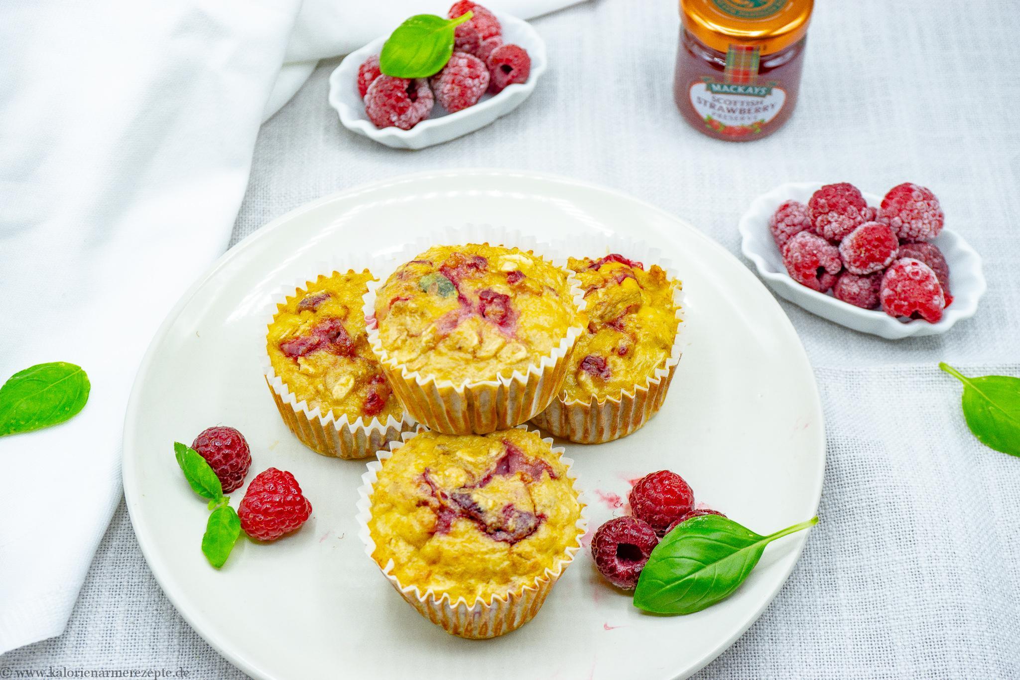 Himbeer-Schoko-Muffins - Kalorienarmerezepte