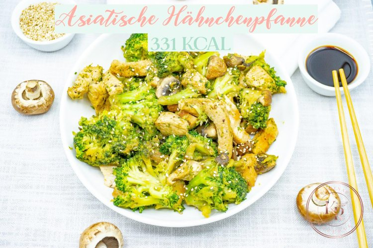 Asia Hähnchen Brokkoli - Kalorienarme Rezepte