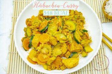 Thai Curry - Gesunde Kalorienarme Rezepte