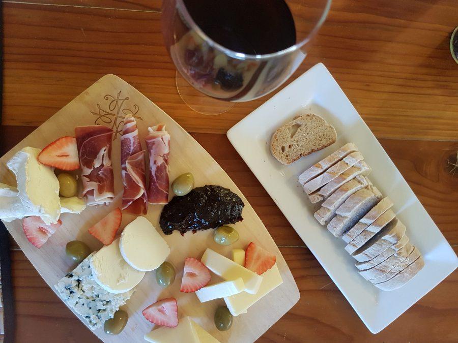 Cuatro Cuatros - Valle de Guadalupe - Tabla de quesos