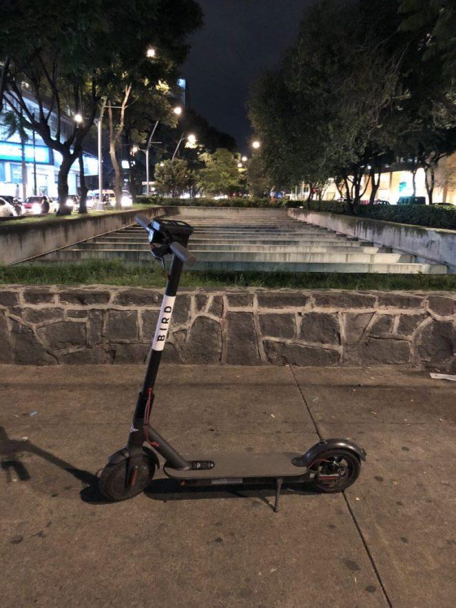 bird scooters en mexico