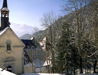 The Grande Chartreuse in winter time