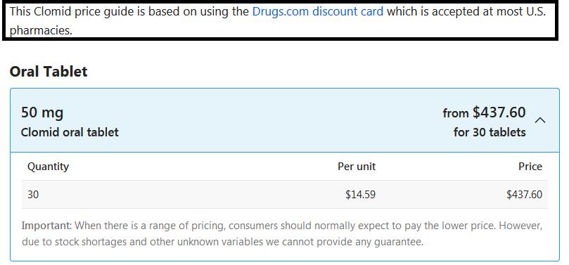 clomid-price