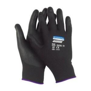 Kimberly Clark 13839 G40 Size L Polyurethane Jackson Safety Coated Gloves