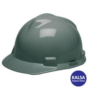 MSA Staz On V-Gard Caps Gray Head Protection