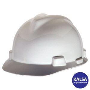 MSA Staz On V-Gard Caps White Head Protection