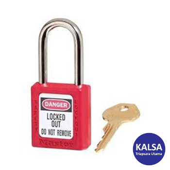 Distributor Master Lock Safety Padlock 410 RED Zenex Thermoplastic