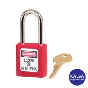 Master Lock 410RED Keyed Different Safety Padlock Zenex Thermoplastic