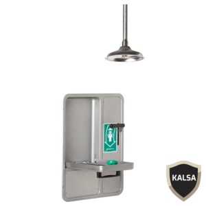Haws 8356WCC Barrier Free Recessed Eye or Face Wash and Shower