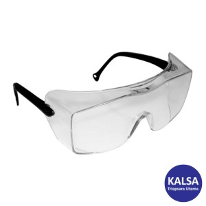 3M 12163-OX Black Temple Over The Glass Coverage Eye Protection