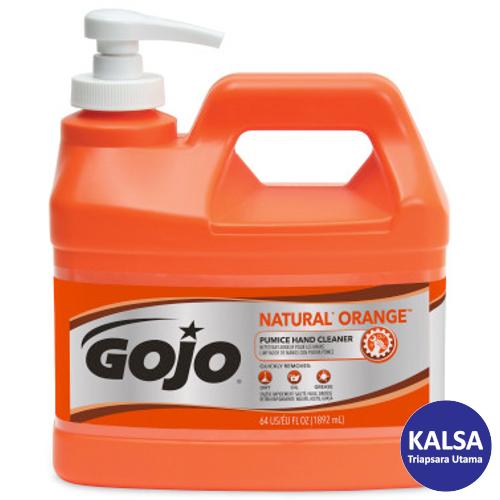 Gojo 0958-04 Natural Orange Pumice Heavy Duty Hand Cleaner