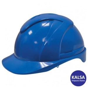 Tuffsafe TFF-957-1230K Blue ABS Vented Safety Helmet