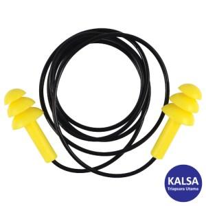 Tuffsafe TFF-958-1700K Yellow Reusable Corded Ear Plug